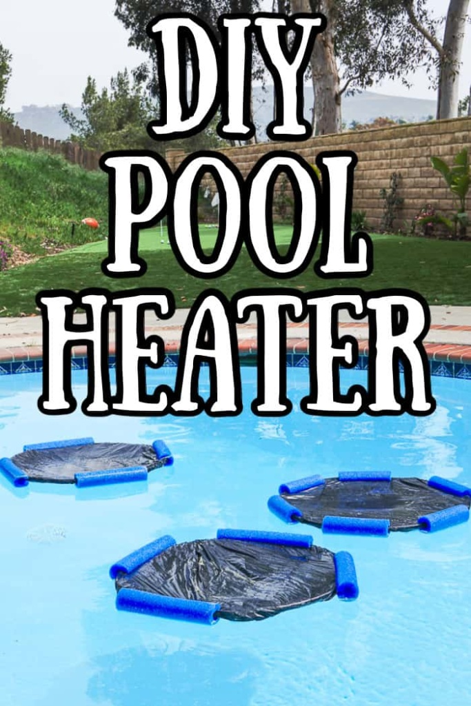 Homemade pool heater