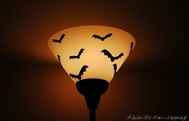 bat lamp shade