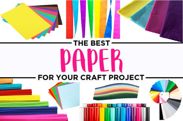 different types of paper