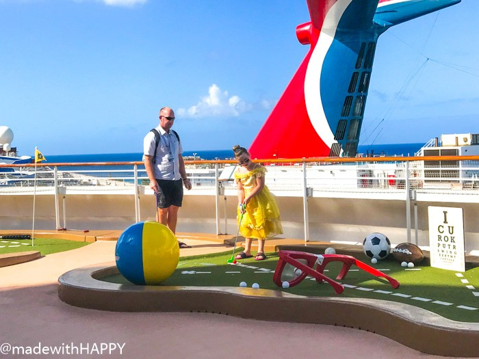 Mini Golf on the Cruise Ship. What is really like on a Disney WDW Cruise. Answering questions about Disney Cruise and the Disney Dream. What to expect on a Disney Cruise. The Disney Cruise as a family of four!