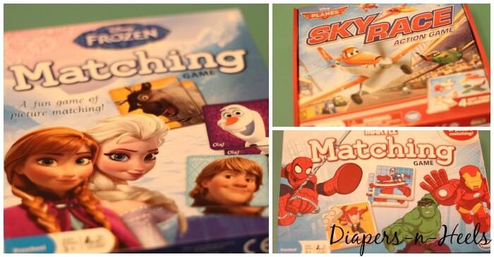 Disney-Matching-Games