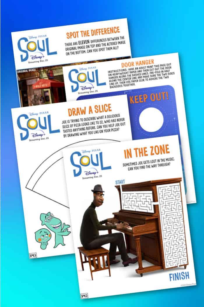 Disney Soul Printable