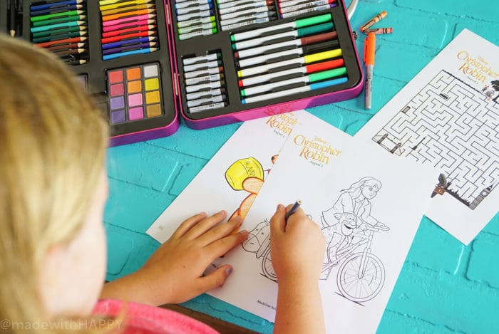Disney Coloring Pages. Disney's Christopher Robin Movie Printable and Activity Sheets. Winnie the Pooh Party Decorations. Activity Ideas for Winnie the Pooh fans. Christopher Robin and the 100 acre woods. Pooh party ideas.