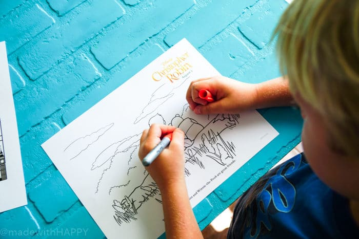 Disney's Christopher Robin Movie Coloring Pages. Disney's Christopher Robin Movie Printable and Activity Sheets. Winnie the Pooh Party Decorations. Activity Ideas for Winnie the Pooh fans. Christopher Robin and the 100 acre woods. Pooh party ideas.