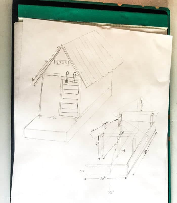 DIY Dog House | Barn Door Dog House | Farm style dog house | Beach house dog house |  www.madewithhappy.com