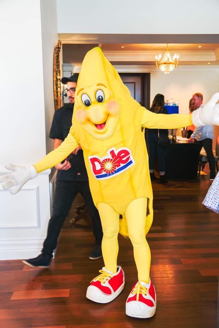Dole Banana. Dole Fall Blogger Summit Featuring Disney's Frozen 2. Frozen movie themed food ideas. Dole Recipe Ideas.