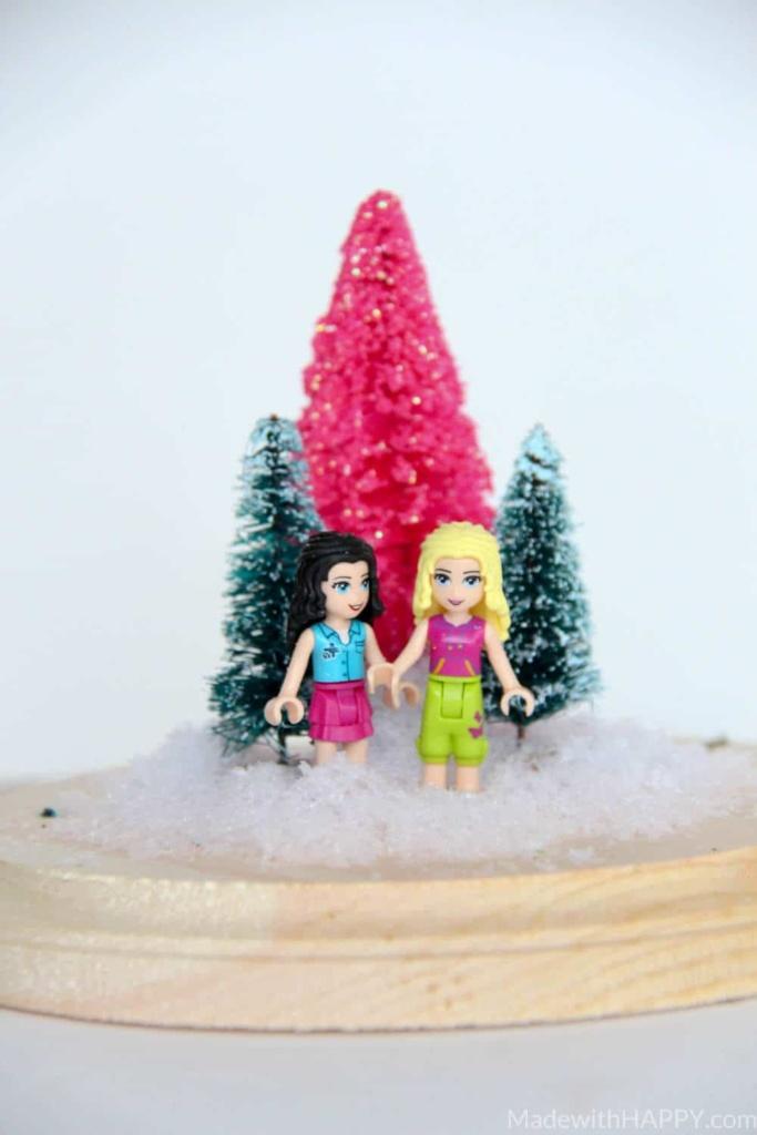 dollar-tree-holiday-terrarium-2Dollar Tree Holiday Terrarium | Cheap Hoiday Decorations | Kids Christmas Crafts | Lego Christmas Crafts | www.madewithhappy.com