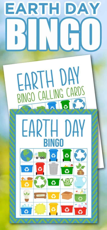 Earth Day Bingo Printable