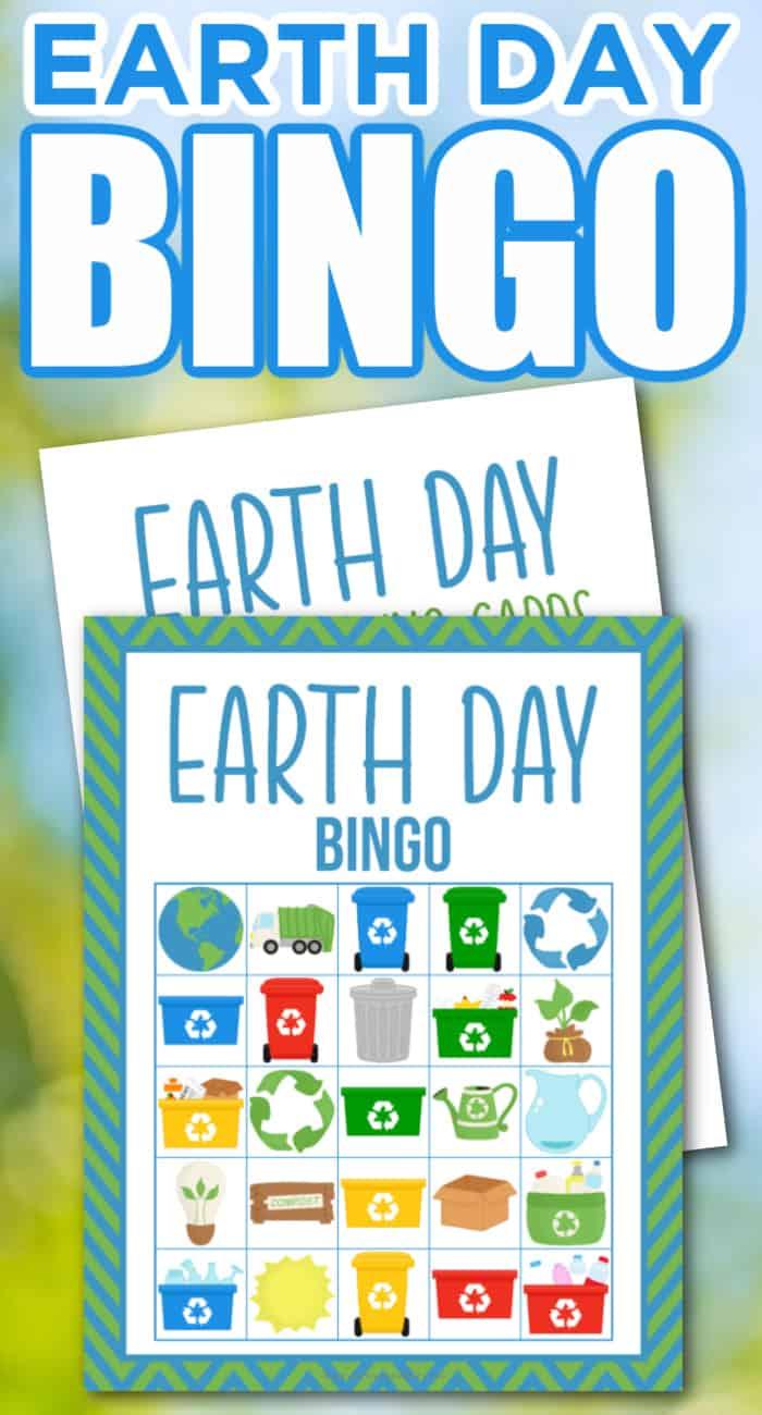 Earth Day Bingo For Kids
