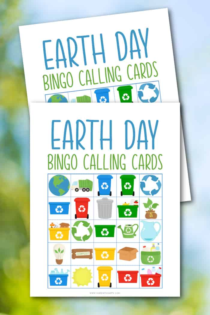 Earth Day Calling Cards