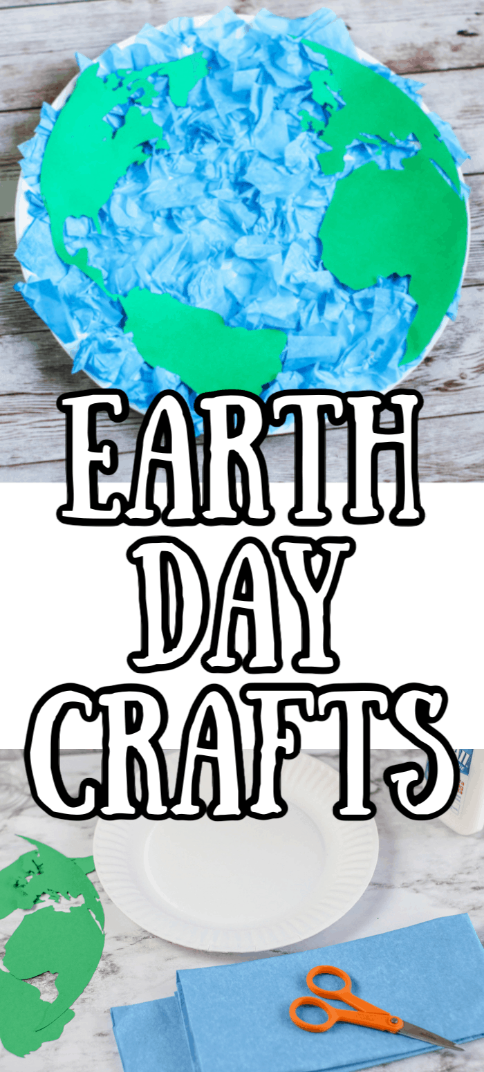 Earth Day Crafts for Kids to make