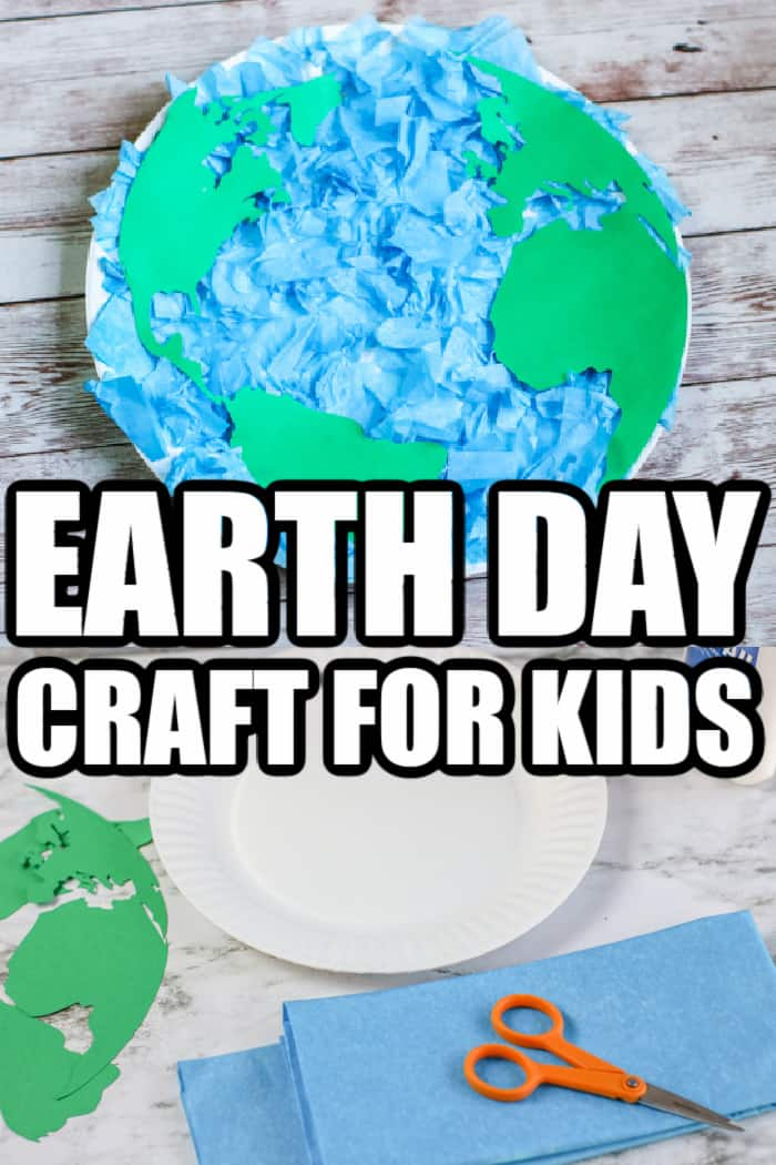 earth day crafts for kids out of paper plate