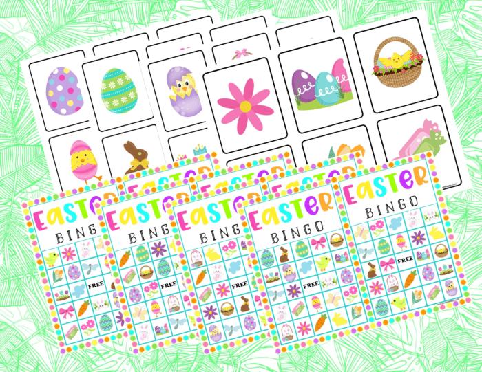 Easter Bingo Printables