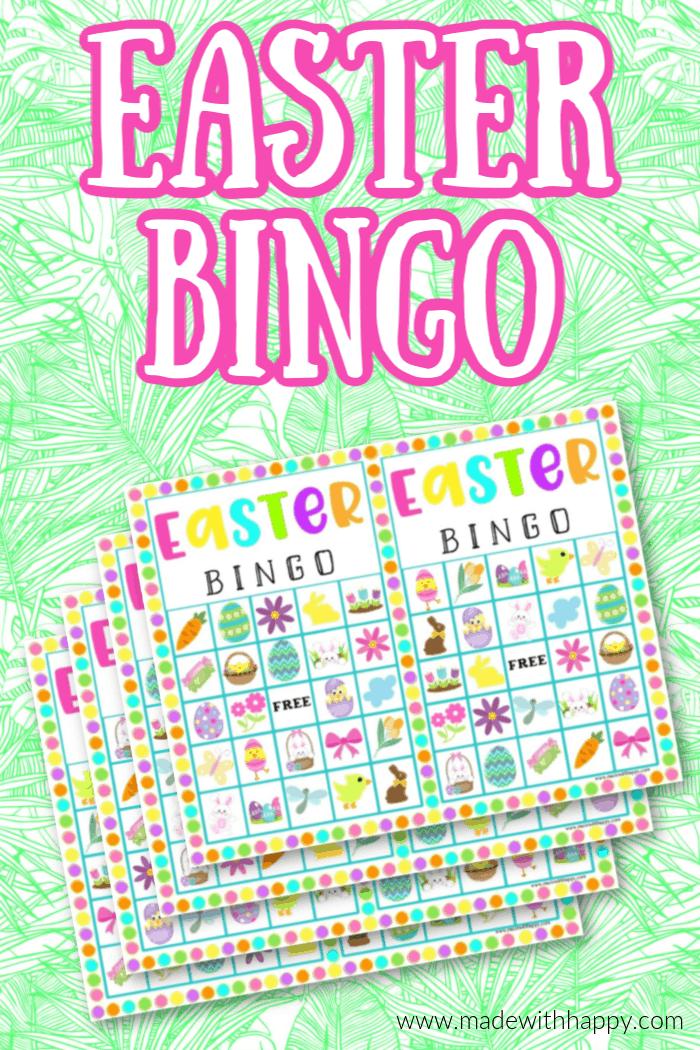 Printable Bingo For Easter