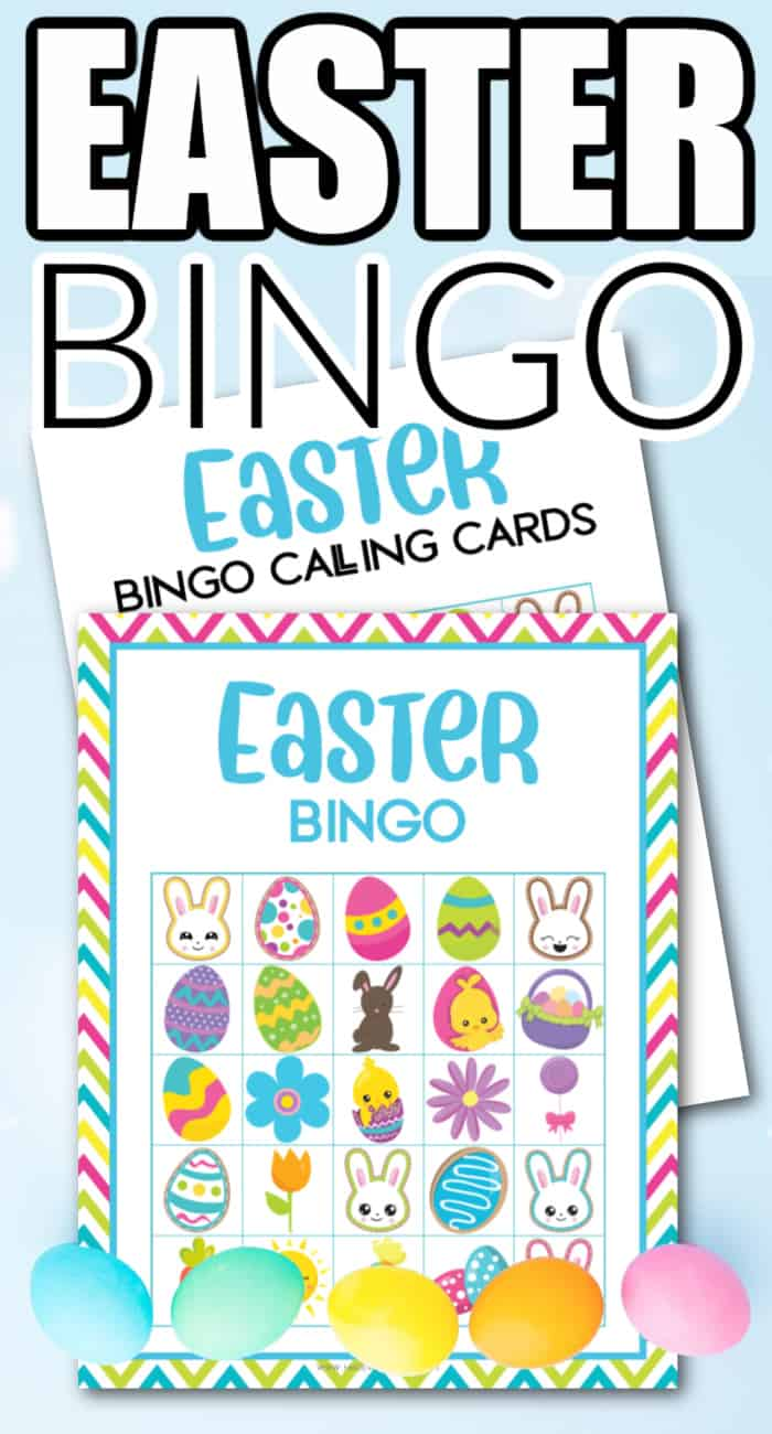 easter activities bingo
