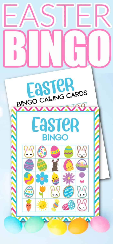 easter bingo free printable