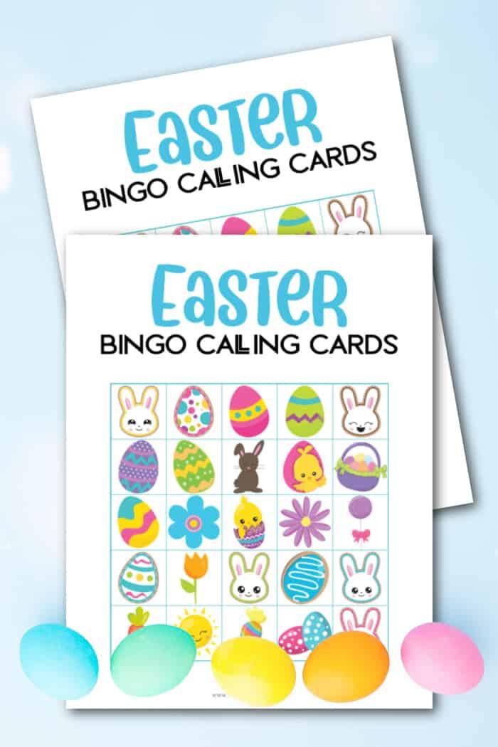 Easter Bingo Calling Cards