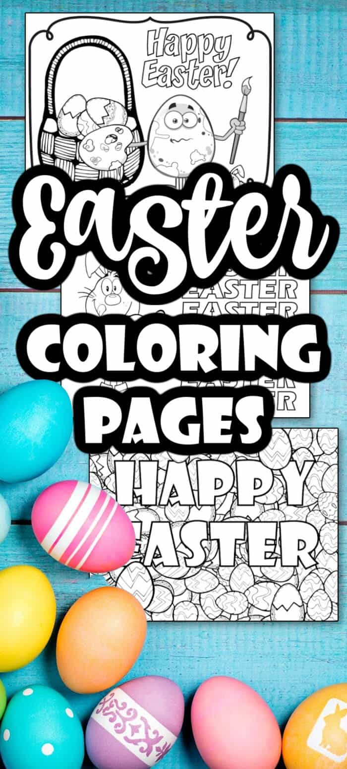 Easter Coloring Page Printables