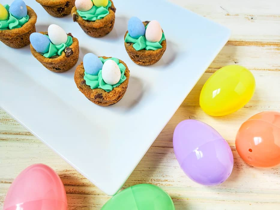 Easter Desserts with Cookie Cups