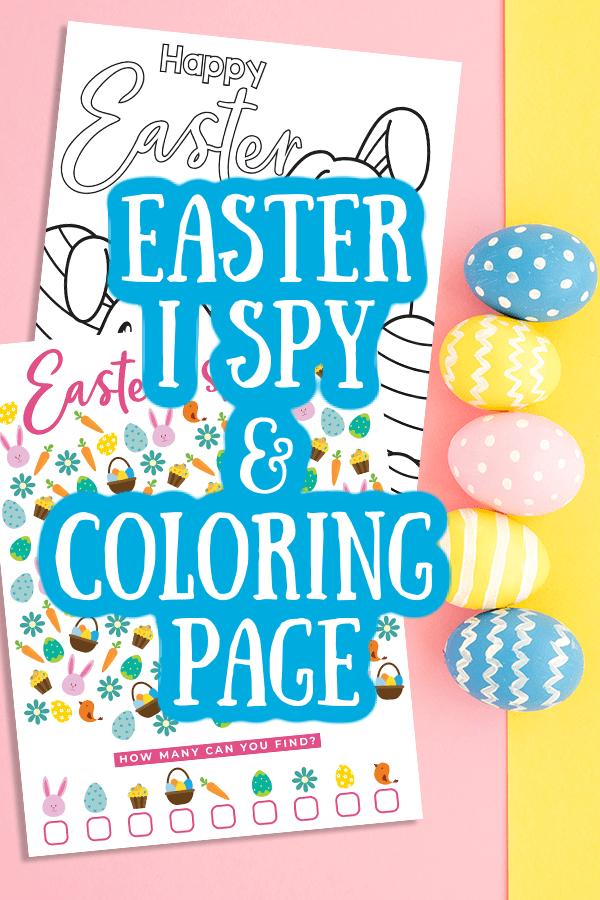Easter i Spy Printable