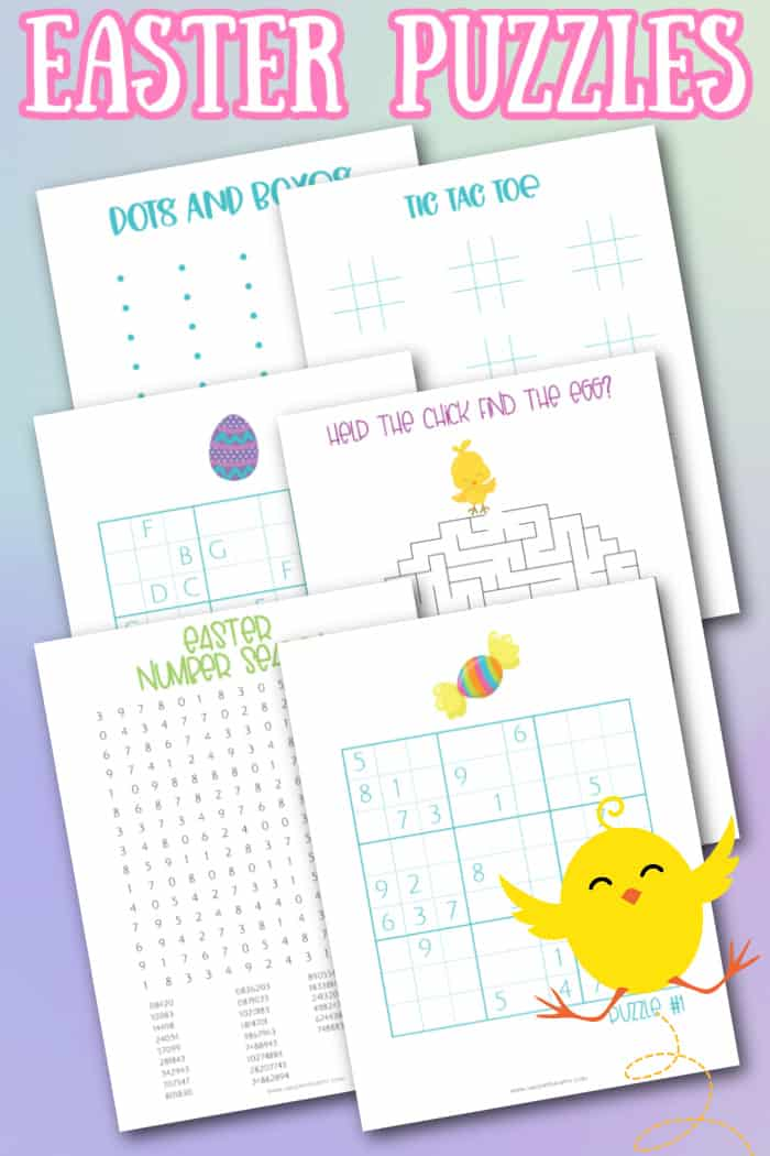 easter puzzles for kids