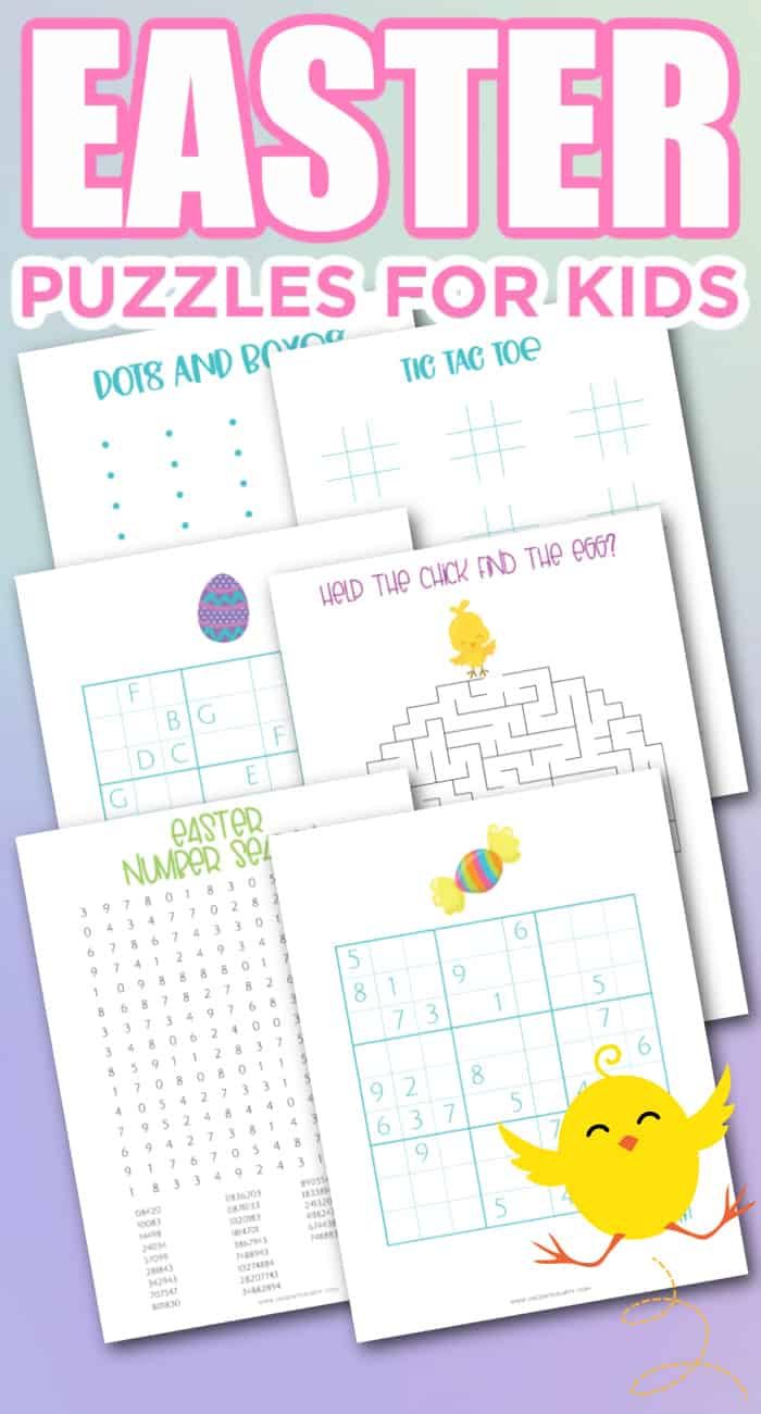 easter puzzles printable