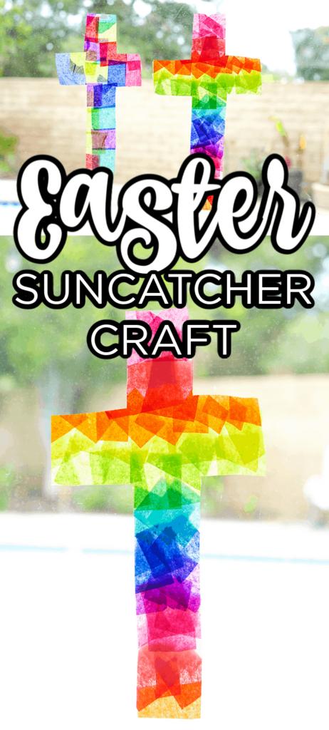 Easter Suncatcher Craft for Kids