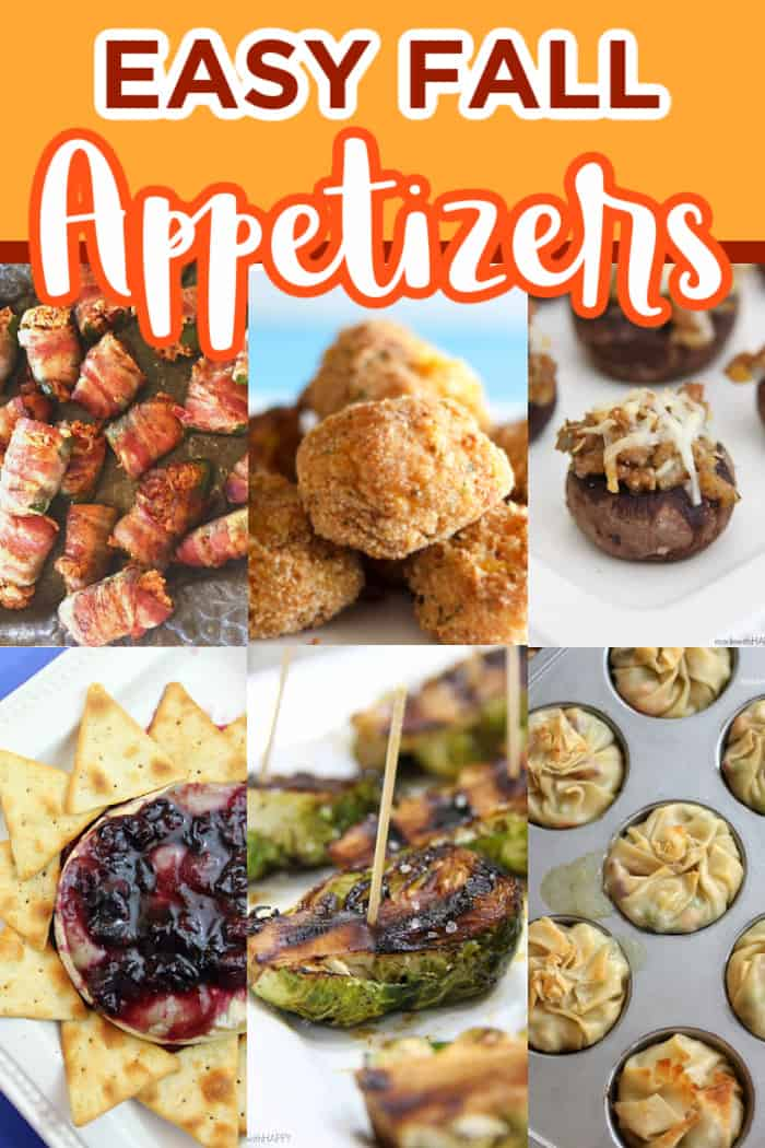 Easy Fall Appetizers