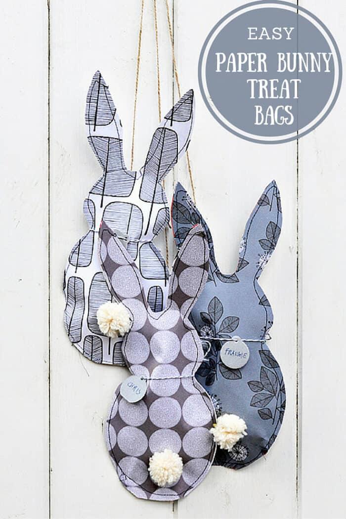 Easy Paper Bunny Treats