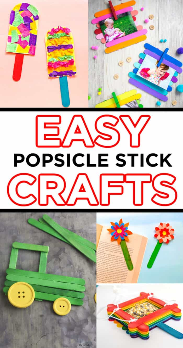 Easy Popsicle Stick Crafts