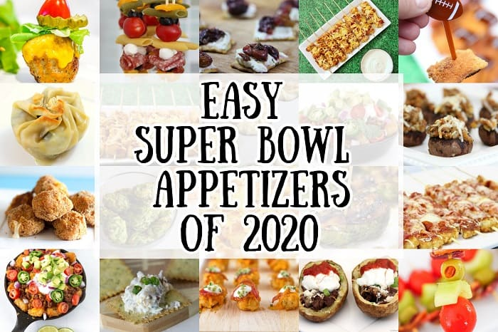 Easy Super Bowl Appetizers of 2020 vertical