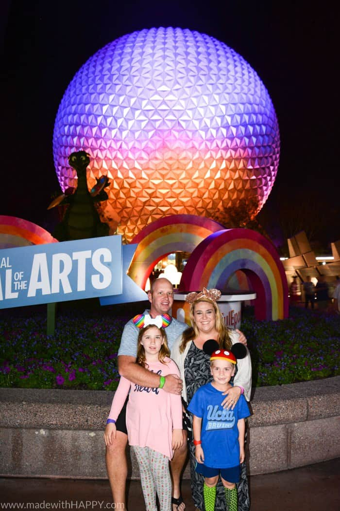 Epcot Festival of arts. Ultimate guide to plan a disney world vacation. Tips and tricks to planning a family vacation to disney world. Disney world parks, hotels, flights and so much more!