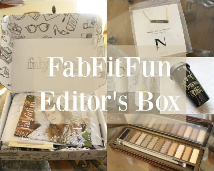This month's FabFitFun Editor's Box is what dreams are made of.