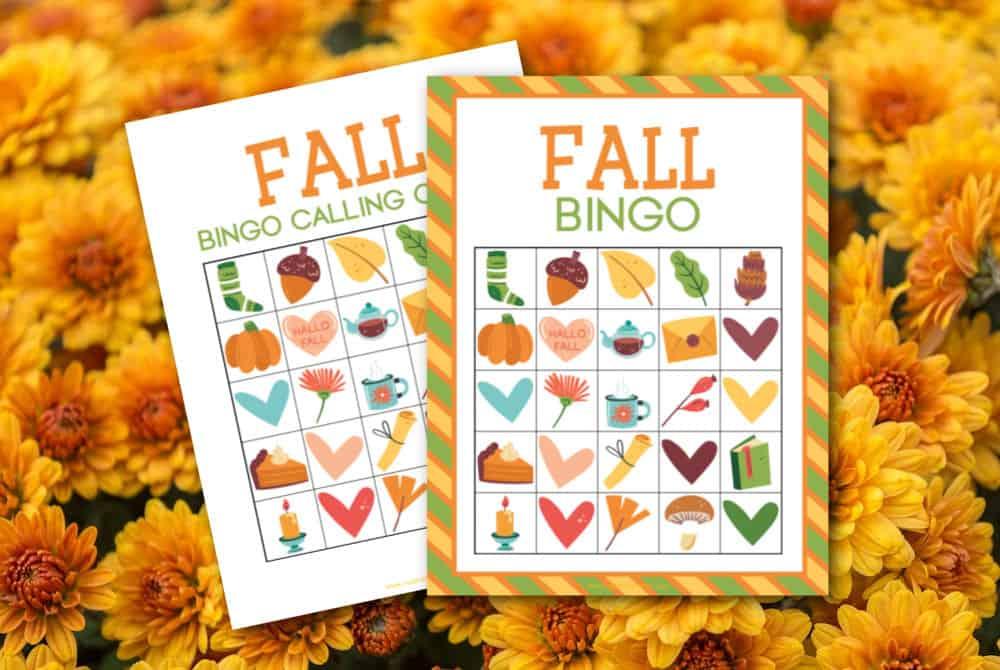 autumn bingo