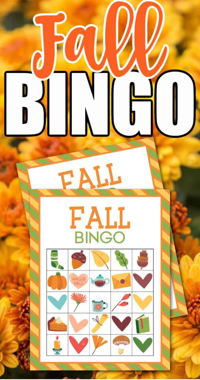 fall bingo printable