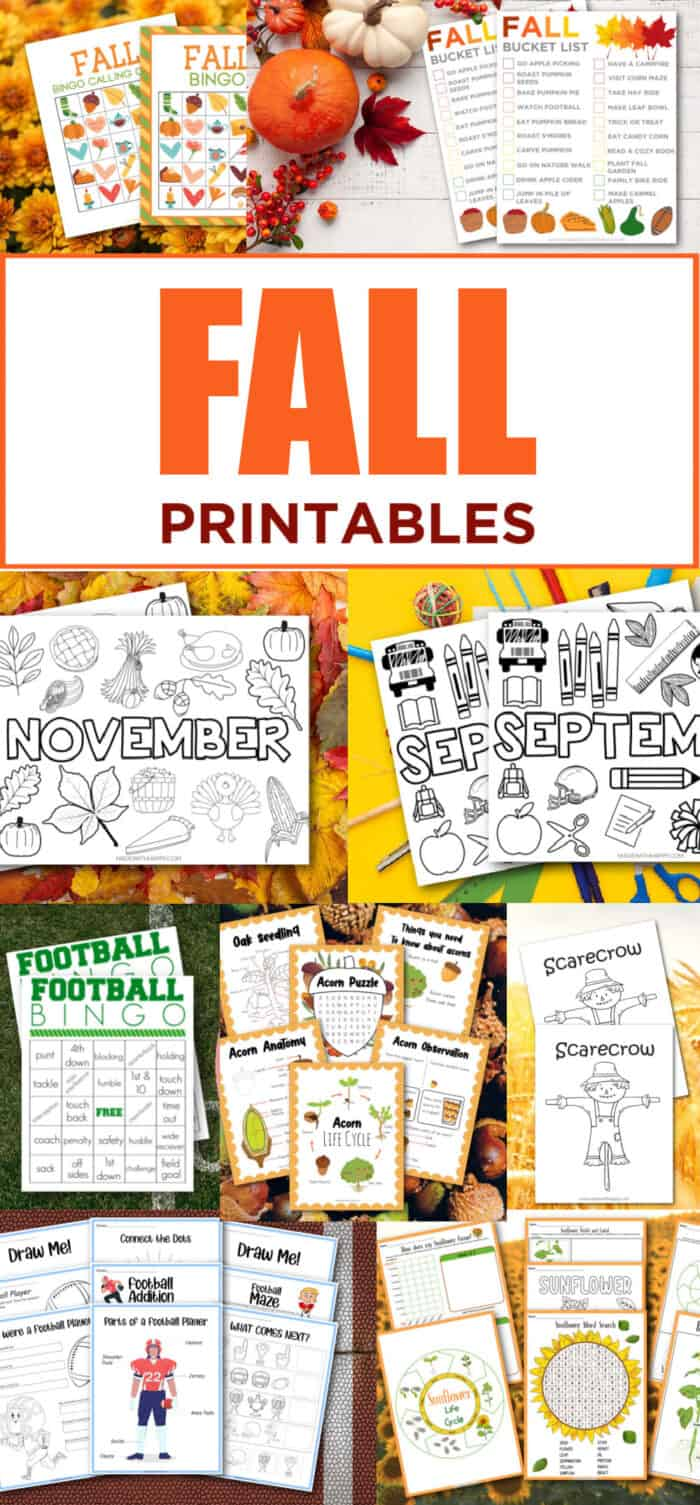 printable fall crafts