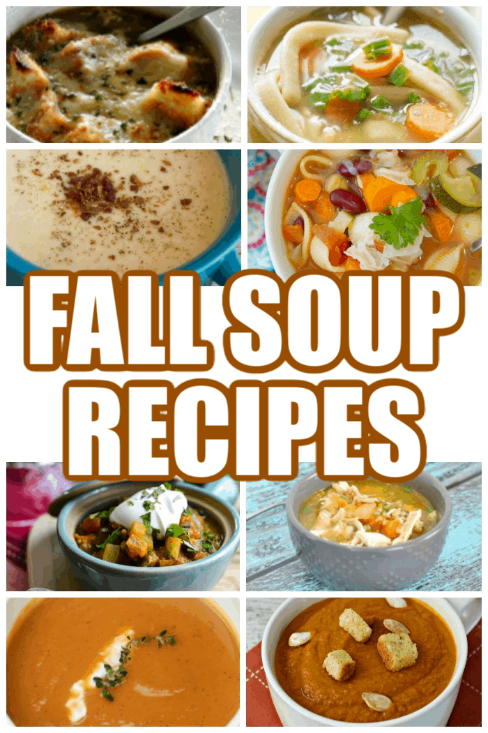 9 Fall Soup Recipes
