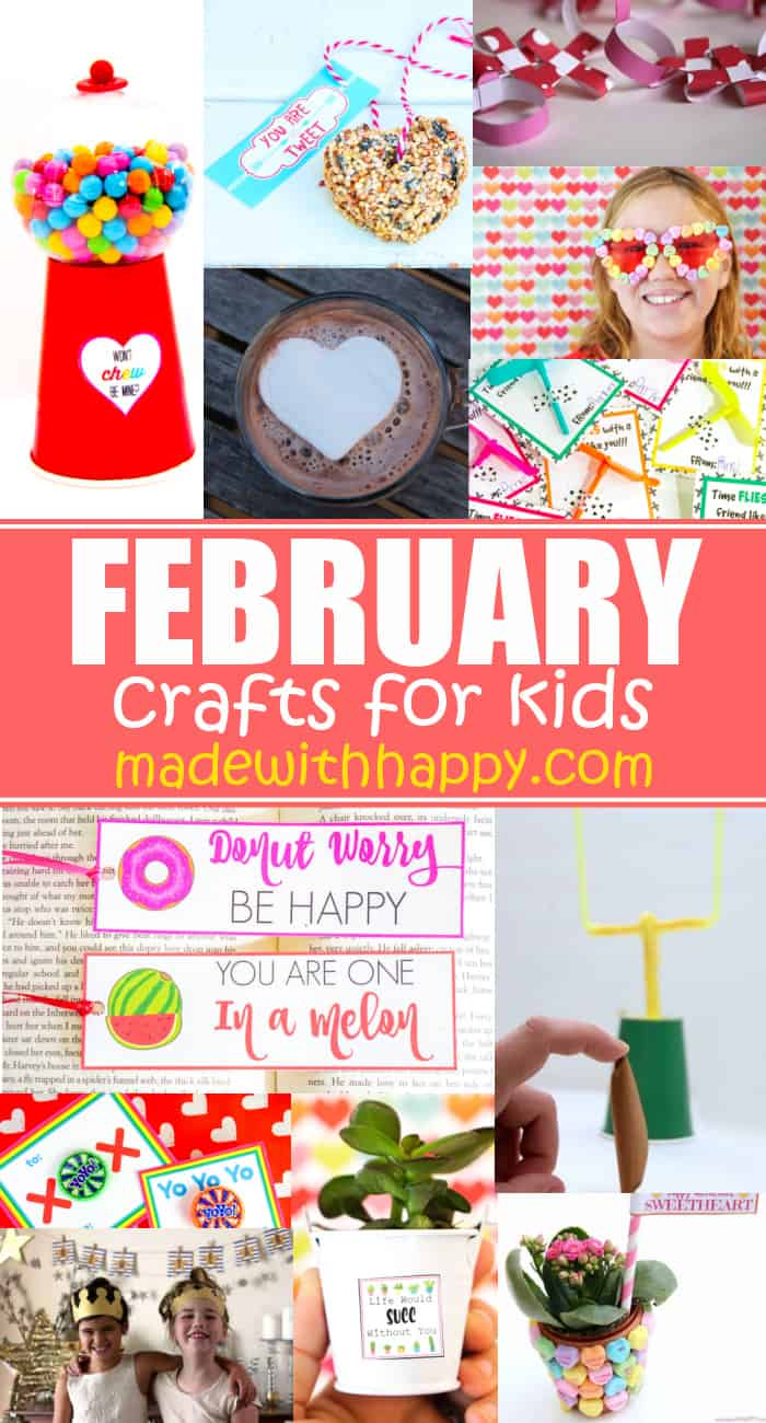 Crafts For February