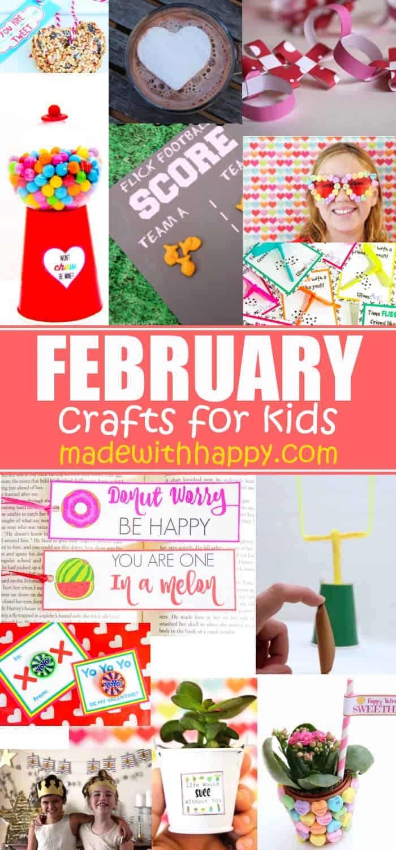 Kids Crafts In February