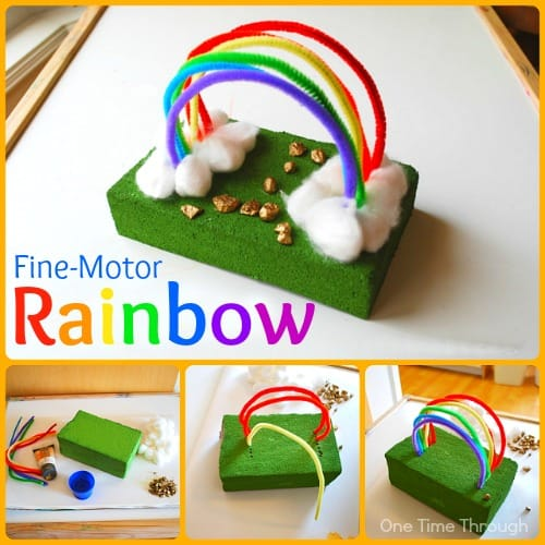 Fine Motor Rainbow