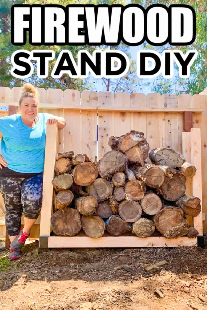Happy Firewood Stand DIY