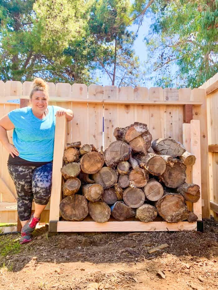 Build a FIrewood rack
