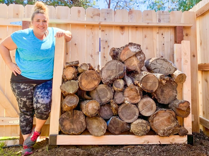 Firewood Stand DIY
