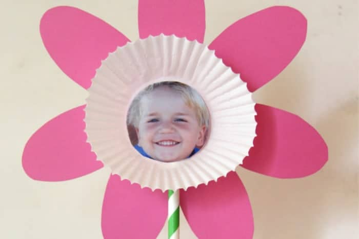 Flower crafts for Kids with Photo