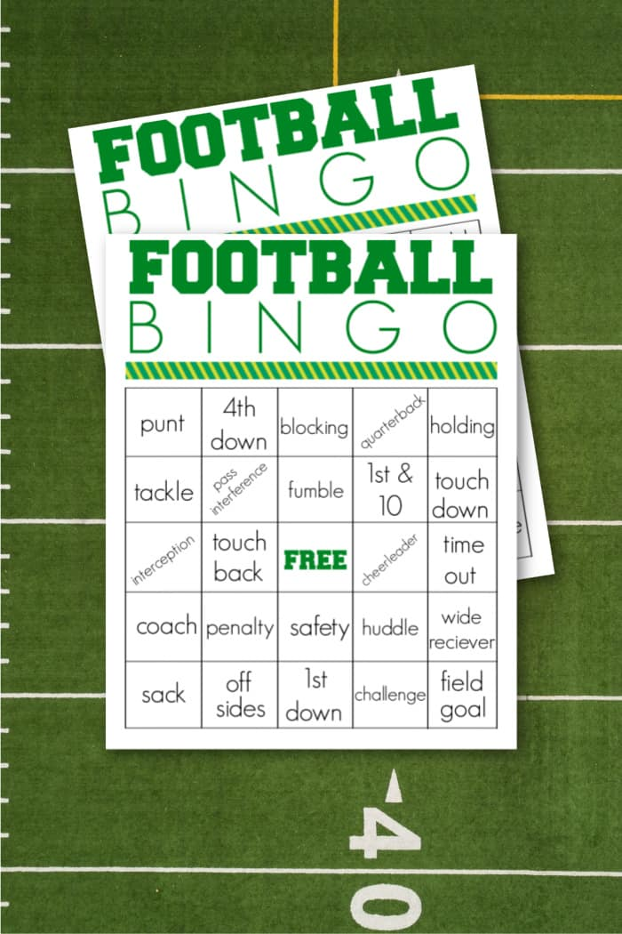bingo for football