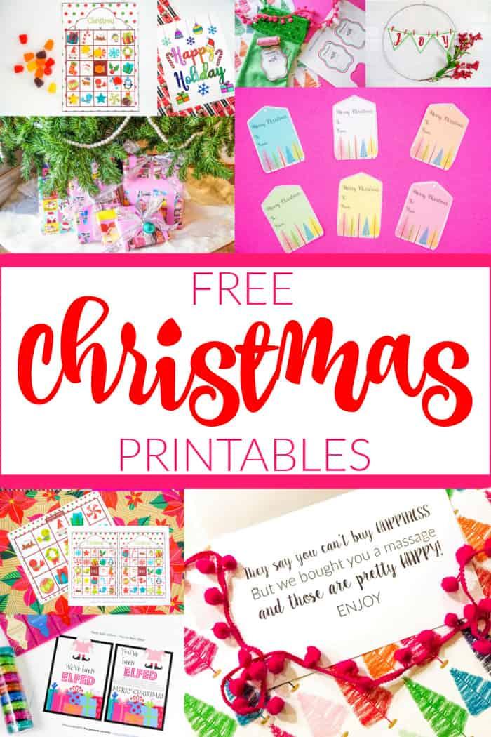 Christmas Printables Free For Kids
