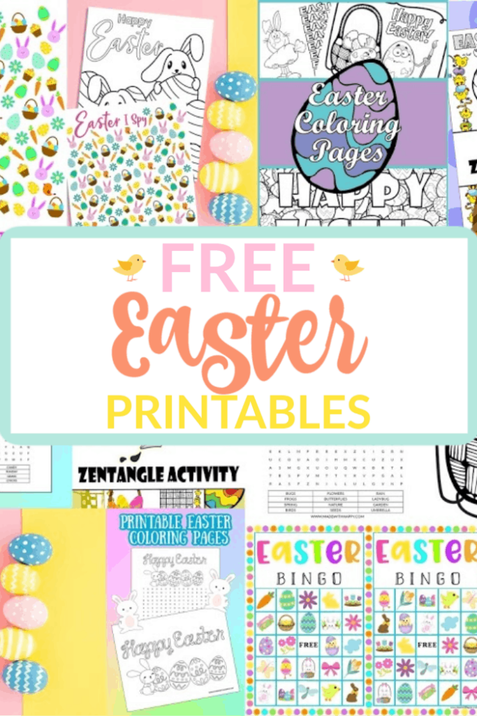 Free Easter Printable Collage