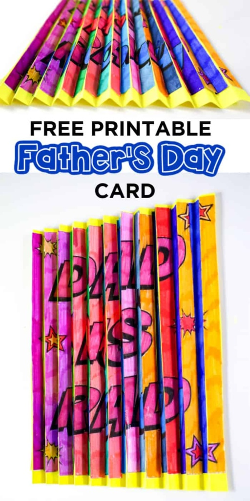 printable fathers day crafts