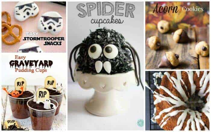 5 Super Fun Fall Foods   Halloween Themed Foods, Fall Flavored Foods   The Handmade Hangout   www.madewithHAPPY.com
