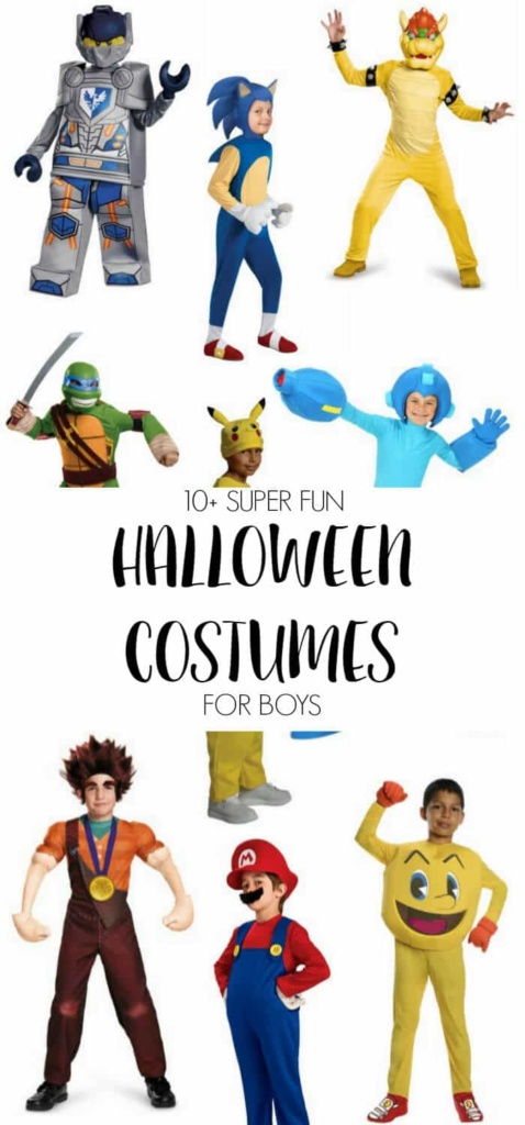 Fun Halloween Costumes For Boys